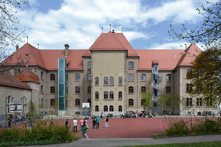 Parler-Gymnasium (Altbau) Schwäbisch Gmünd