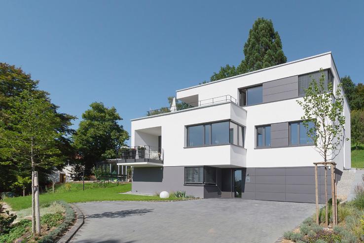Wohnhaus am Hang Schwäbisch Gmünd